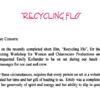Recycling Flo